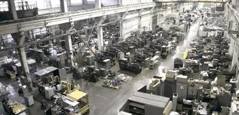 Механический цех. Производство оборудования. Санкт-Петербург.