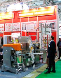 Хлебопекарное и кондитерское оборудование на выставке
