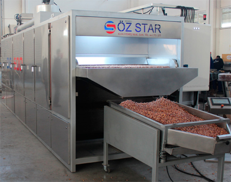 печь для обжарки семечек, орехов и сухофруктов OZ STAR MAKINA