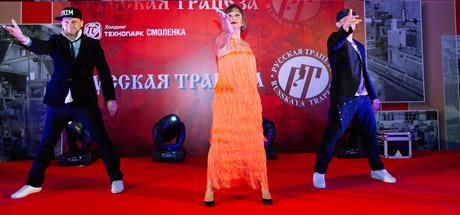 Татьяна Буланова на юбилейном вечере Русской Трапезы