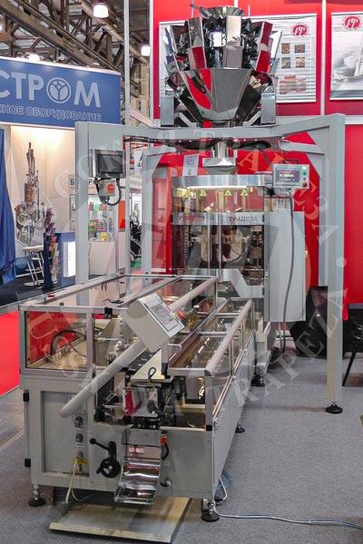 Упаковочный комплкес упакокочная машина Sbi-200 и брикетер Рубрик