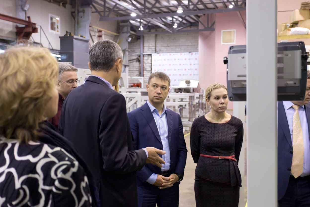 Минпромторг посетил завод холдинга
