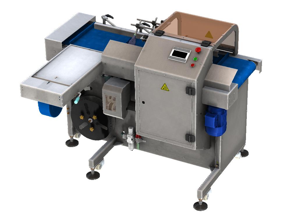Компактный клипсатор для упаковки хлебопродуктов