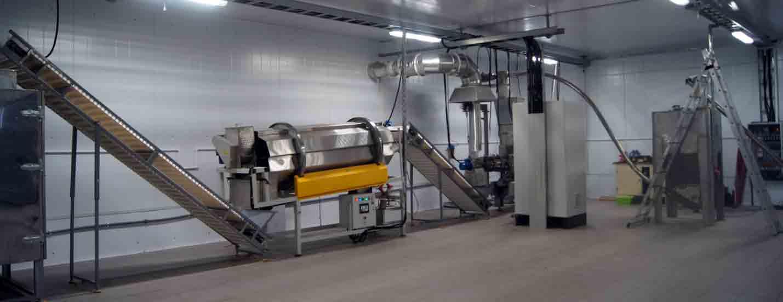 оборудование для производства и упаковки гранулированных отрубей