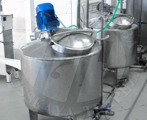 установка приготовления сиропа