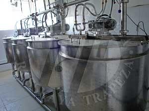подготовка и подача жидких компонентов