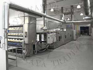 печь тунельная