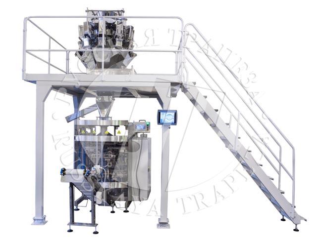 Упаковочная машина Sbi-260 и мультиголовочный дозатор DPM