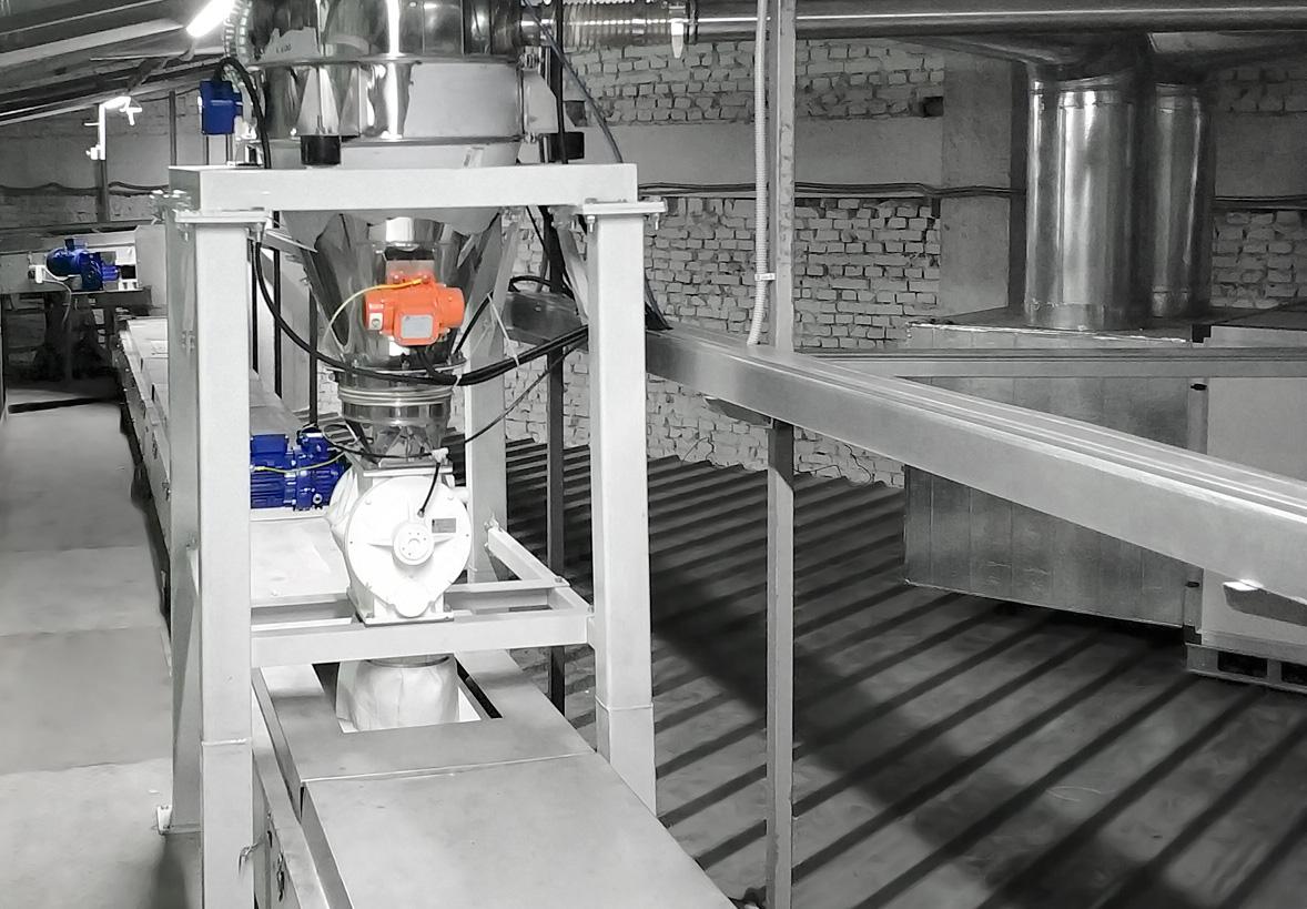 Автоматическая транспортировка сахарного песка, ОАО