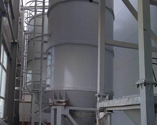 Склад БХМ на производстве угольных брикетов, ООО «Разрез Берёзовский»
